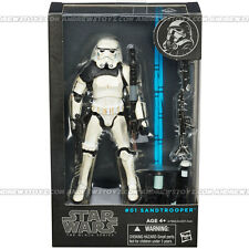 "Hasbro Star Wars The Black Series Sandtrooper 6 "" MISB"