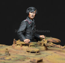 Alpine Miniatures 1:35 WWII SS Tiger Commander - Resin Figure Kit #35223