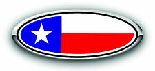 Ford F150 2005-2007 Overlay Emblem Decal Texas Flag 3PC Kit!