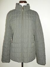 J. Crew Downtown Field Quilted Puffer Goose Down Jacket Coat Womens sz L Large