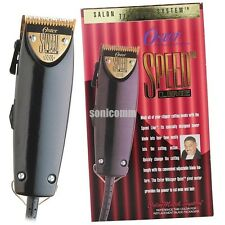 Oster Professional Speed Line Salon Textured System Clipper 76023-540 Barber Set