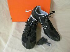 Used Men's 11 M Running Shoes Track Cleats Nike Black/Metallic Zoom Rival MD 5