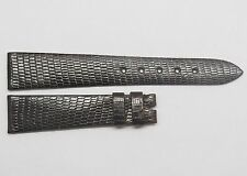 Genuine Vintage Dark Brown ROLEX Watch Band 17mm Swiss Authentic Lizard Skin
