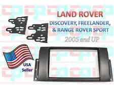 Aftermarket Double Din Radio Install Dash Kit Fits Land Range Rover 2005 and Up