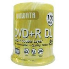 Windata DVD+R DL 8x 8.5GB 240 min 100 pack blank dual double layer
