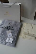 NEW AUTHENTIC N.PEAL  Grey  CASHMERE SCARF  Gift