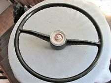 ORIGINAL STEERING WHEEL W/ HORN BUTTON FOR 1955 1956 PONTIAC CHIEFTAIN?