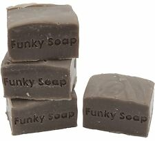 1 piece Walnut Hull Shampoo Bar, black/dark Hair 100% Natural Handmade 120g