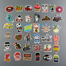 100pcs Mix Stickers Skateboard Sticker Graffiti Laptop Luggage Car Decals