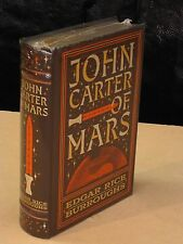JOHN CARTER OF MARS- 5 NOVELS by EDGAR RICE BURROUGHS Leather Bound & NEW!!!