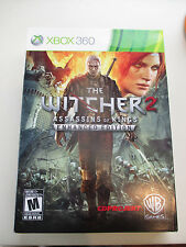 THE WITCHER 2 ASSASSINS OF KINGS - ENHANCED EDITION  XBOX 360
