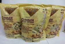 3 x Prince of Peace - Instant Ginger Honey Crystals (30x18g Bags)Honsei Goldkili