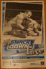 RANDY ORTON VS CHRIS BENOIT: 11X17 Smackdown! Event poster 2005 WWE WWF ECW