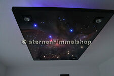 LED Sternenhimmel Funk 200 Lichtfaser in Glasfaser Optik inkl Anschluss an Strom