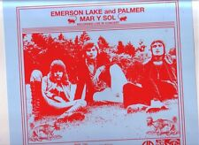 "EMERSON, LAKE and PALMER ""Mar y Sol""12 Track Recorded Live in Concert Limitiert"