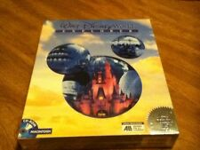 New DISNEY WORLD EXPLORER ~ WINDOWS CD-ROM Sights & Sounds of Disney Freeship