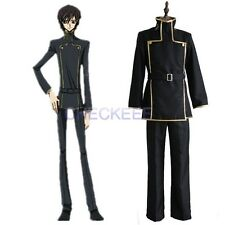 Code Geass Lelouch Lamperouge School Uniform Cosplay Costume