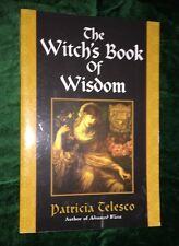 The Witch's Book of Wisdom,Patricia Telesco 2003, Paperback,WICCA WICCAN,SPELLS