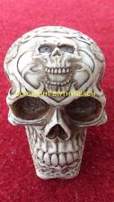 NEW DESIGN RUBBER LATEX MOULD MOULDS MOLD TO MAKE SMALL DETAILED GOTHIC SKULL 1S