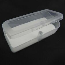 NEW Portable Plastic Clear Transparent Storage  Container Box I