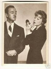David Niven Shirley MacLaine #2 1950s MGM Italy Card Look!