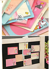 Little Talk Ver.2 PonyBrown Korean Stationery Post-It Memo Flags Sticky Notes AB