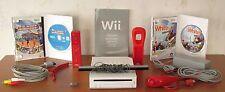 Nintendo Wii Komplettpaket, 2 Spiele: Summer Athletics &  Snowboarding - Top