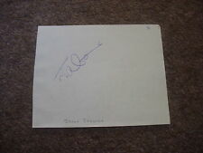 Jason GALLIEN  England Cricket  ORIGINAL Hand Signed Page