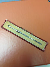 VINTAGE GEMEX USA  WOMENS S.S. SILVER STRETCH WATCH BRACELET BAND  NEW OLD STOCK