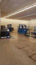 U Boat Stock CARTS Used LOT 8 Warehouse Backroom Store Cart Material Handling