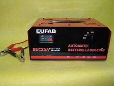 Automatik Batterieladegerät EBC22A Marke EUFAB für 6/12/24 Volt Akku-Ladegerät