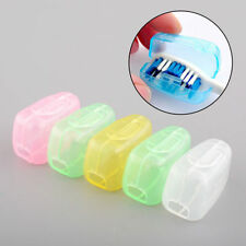 5pcs Toothbrush Head Cover Holder Travel Camping Case Protect Case Brush