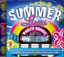 Drew's Famous SUMMER LUAU PARTY MUSIC: TROPICAL ISLAND STEEL DRUM BAND CD (2009)