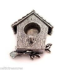 "Birdhouse Candle Holder 4"" Mini Taper Chime Candles"