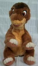 "GUND The Land Before Time LITTLE FOOT DINOSAUR 15"" Plush STUFFED ANIMAL Toy 1988"