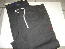 NEW BIG MENS RALPH LAUREN BLACK W/BURGANDY POLO SWEATPANTS SIZE 4XLT $125