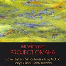 BILL WIMMER - PROJECT OMAHA - 9 TRACK MUSIC CD - LIKE NEW - F184