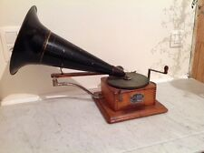 Berliner Gramophone Phonograph Type A working