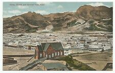 POSTCARD-MIDDLE EAST-ADEN-PTD. Aden Camp, Church and General View.