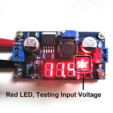 DC-DC ADJUSTABLE LM2596 STEP DOWN MODULE BUCK CONVERTER VOLTAGE REGULATOR+LED NT