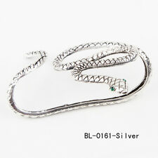Punk Snake Crystal Hand Palm Bracelet Bangle Cuff Ring Jewelry Fancy Fashion
