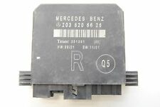 MERCEDES C CLASS W203 2004 RHD DOOR CONTROL MODULE UNIT REAR RIGHT A2038206626