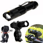 1200lm Cree Q5 LED Cycling Bike Bicycle Head Front Flashlight Torch + 360 Mount