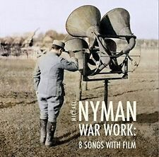 Michael Nyman: War Work - Eight Songs with Film (CD, Jan-2016, MN Records)