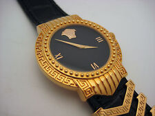 Gianni Versace Signature Medusa Gold Plated G20 Watch W/ Box
