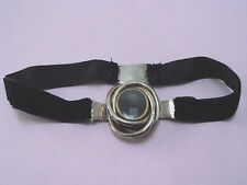 ANTIQUE 9CT GOLD MOURNING AMBROTYPE PHOTO NECKLACE 1870