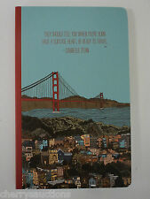 Travel notes thoughts Golden Gate Bridge WRITE NOW JOURNAL traveler soy ink