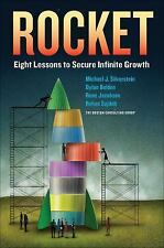 ROCKET Eight Lessons to Secure Infinite Growth.  (New - Hardcover) Free Shipping