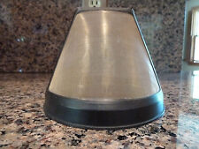 Goldtone Reusable Coffee Filter fits most cone-style coffee makers