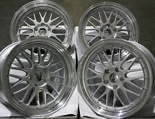 "18"" SILVER LM ALLOY WHEELS FIT BMW 1 SERIES MINI COUNTRYMAN PACEMAN JCW 5X120"
